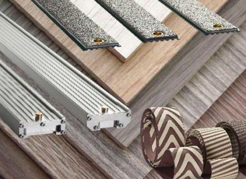 Patines, bandas lamella, almohadillas de lijado, tela grafitada y fieltro para lijadoras Abramaster