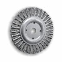 Cepillos circulares de alambre trenzado