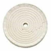 Discos de tela de algodón cosido total